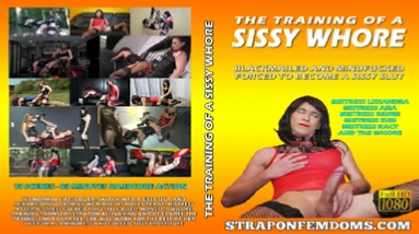 STRAPON FEMDOMS - SISSY WHORE